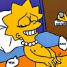 Homer seducing Lisa to do blow job